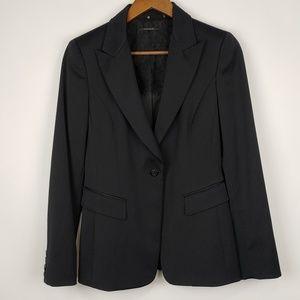 Elie Tahari Black Single Button Blazer 8